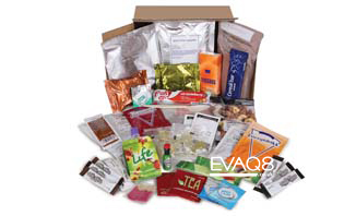Genuine Military Style 24 hour Ration Pack British Army | MRE food from EVAQ8 the UK's Emergency Preparedness specialist
