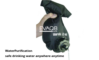 Not just MRE food but also Water Purification | safe drinking water anywhere anytime | MRE food and Waterpurificatin from EVAQ8 the UK's Emergency Preparedness specialist